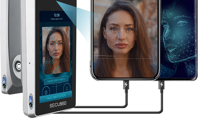 Face recognition identity proof biometrics terminal